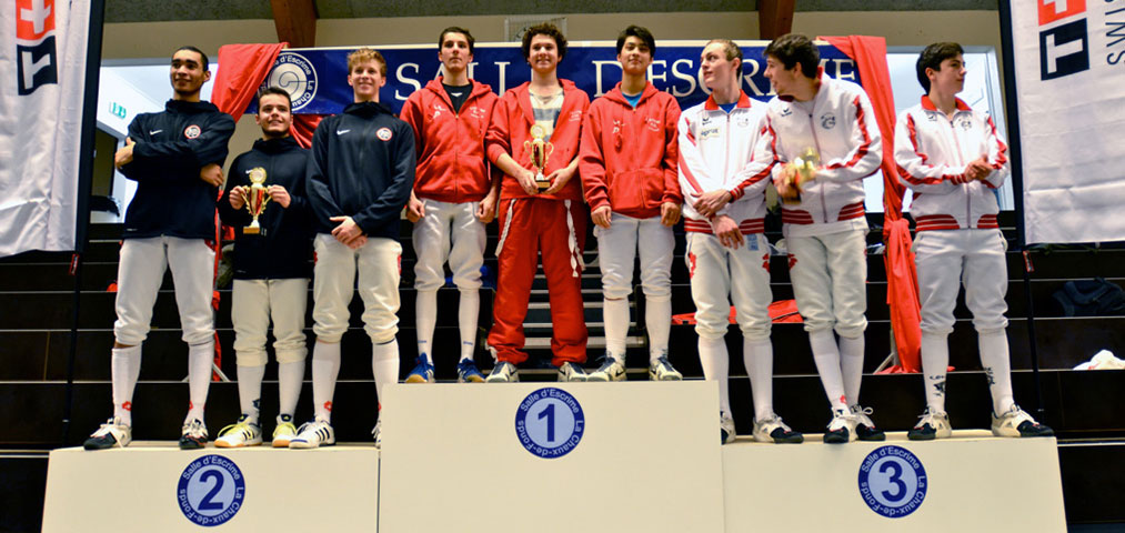 Rapiere 15 podium juniors